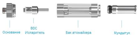 Электронная сигарета Eleaf D14 (650 mAh) в магазине vizitmarket.ru