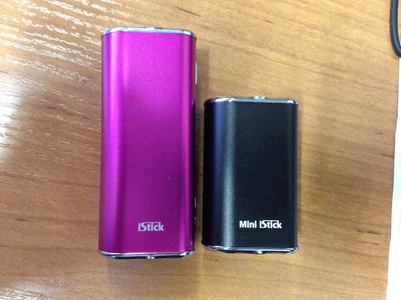Электронная сигарета Eleaf Mini iStick (1050 mAh) в магазине vizitmarket.ru. Сравнение со старшими моделями