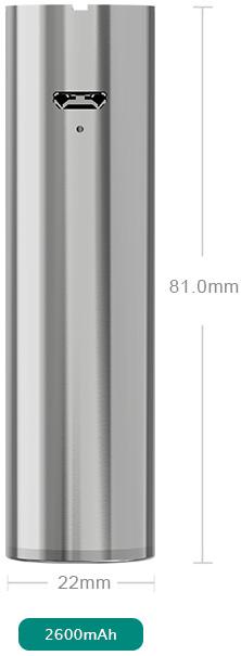 Электронная сигарета Eleaf iJust 2 (2600 mAh) в магазине vizitmarket.ru размеры аккумулятора