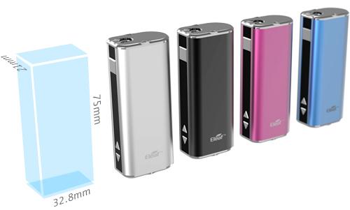 Электронная сигарета Eleaf iStick (2200 mAh, 20 W) в магазине vizitmarket.ru внешний вид и размеры