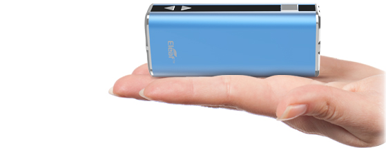 Электронная сигарета Eleaf Mini iStick (1050 mAh) в магазине vizitmarket.ru сравнение с рукой человека