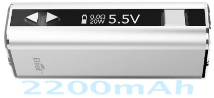 Электронная сигарета Eleaf Mini iStick (1050 mAh) в магазине vizitmarket.ru органы управления