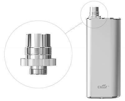 Электронная сигарета Eleaf Mini iStick (1050 mAh) в магазине vizitmarket.ru переходник 510-eGo